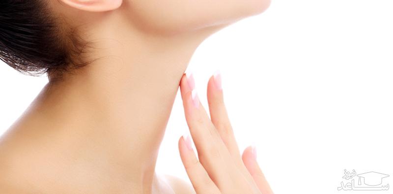 مراقبت از پوست گردن