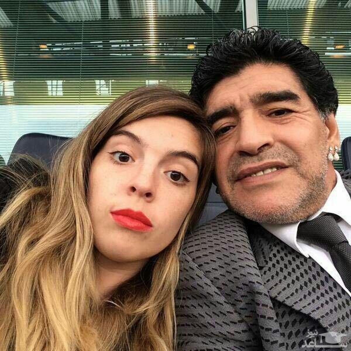 دختر مارادونا؛ دیگه از مرگ نمیترسم!