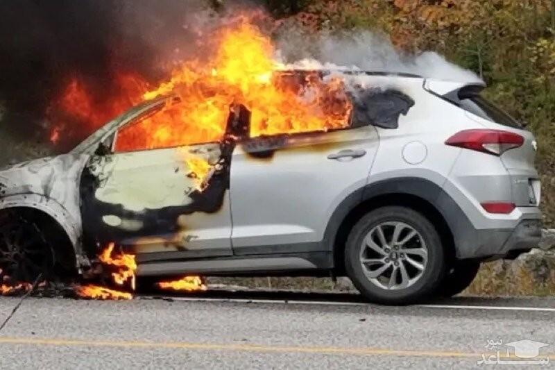 (فیلم) ماجرای رمزآلود آتش گرفتن هزاران خودروی هیوندای و کیا در کانادا