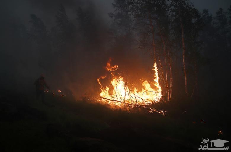 آتش سوزی جنگ