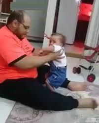 (فیلم +18) کودک آزاری پدر بی رحم برای سرپا ایستادن