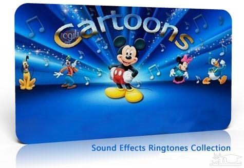 دانلود آلبوم رینگتون جدید و کارتونی برای گوشی های موبایل از افکت صوتی اشیاء