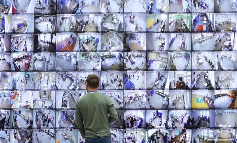 مانیتورهای نظارت بر مراکز رای گیری انتخابات پارلمانی روسیه در کمیسیون مرکزی انتخابات در شهر مسکو/ تاس