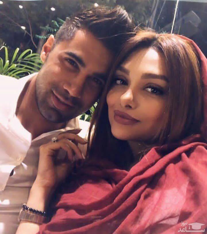 عکس غیراخلاقی محسن فروزان و همسرش در آسانسور