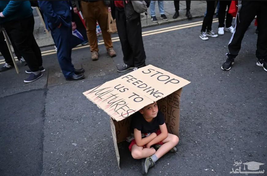 اعتراض به افزایش نرخ اجاره خانه در دوبلین ایرلند/ رویترز
