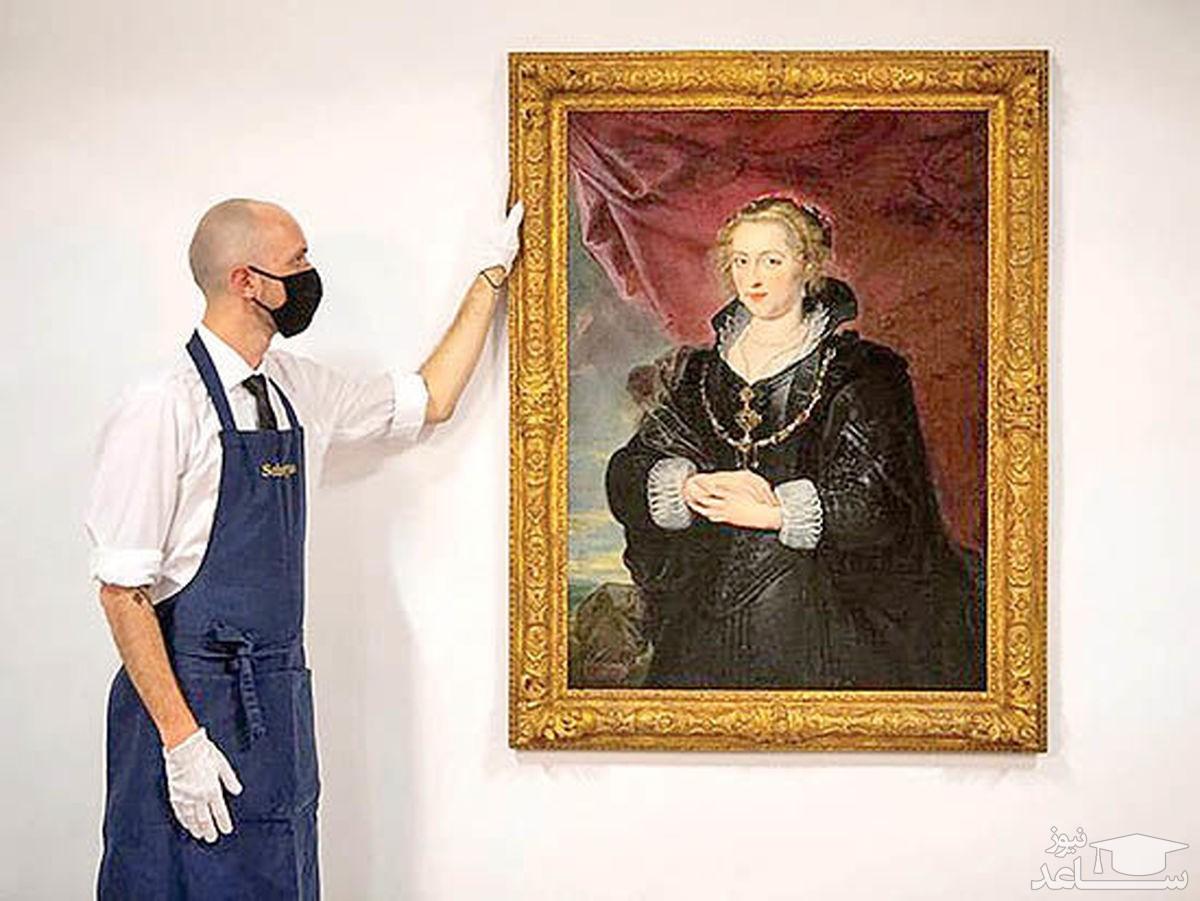 نقاشی سه میلیون پوندی در زیر لایه غبار پیدا شد!