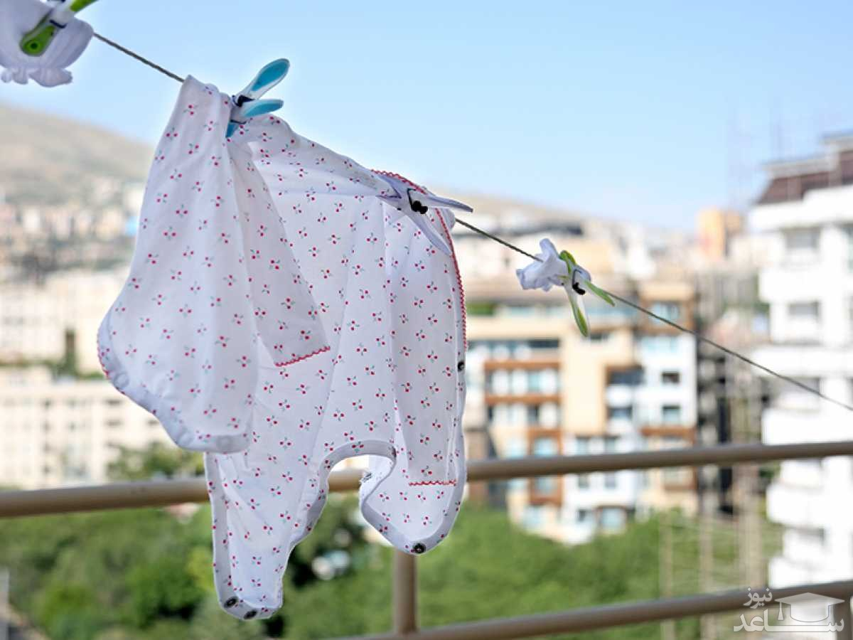 نکاتی درباره شستن لباس نوزاد و کودک