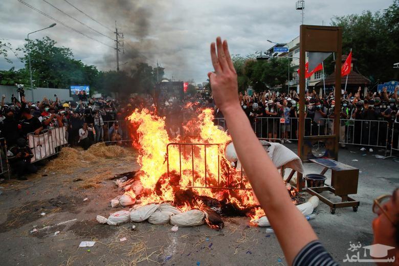 اعتراضات ضددولتی علیه سوء مدیریت دولت تایلند
