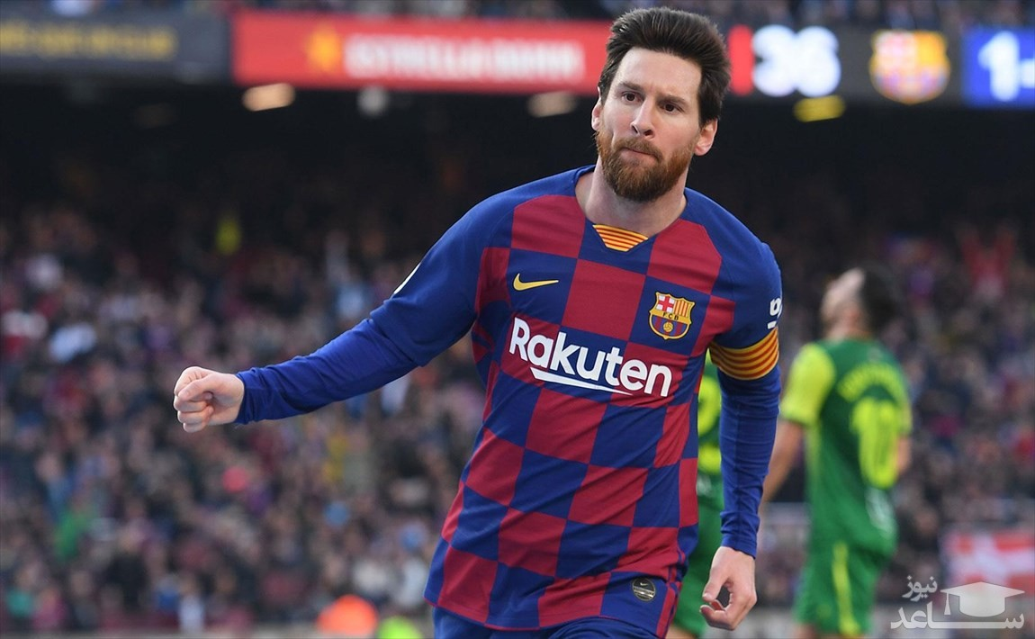 ظاهر جدید مسی در تمرینات بارسلونا