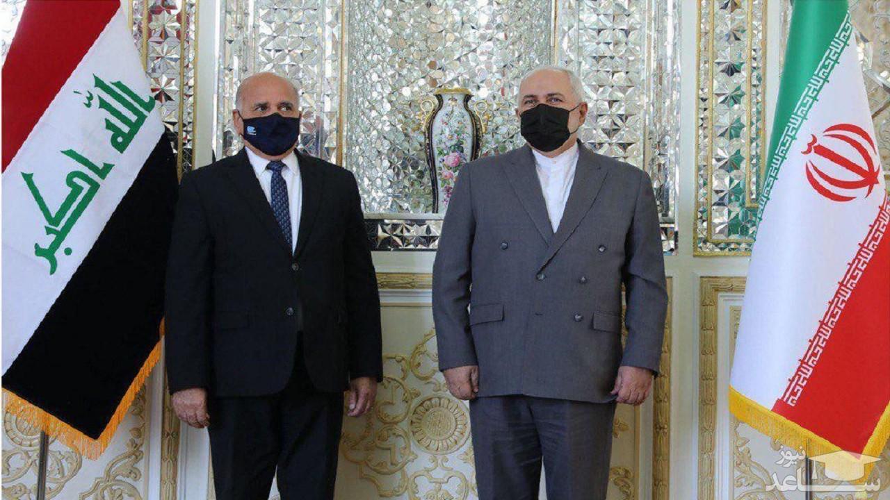 فواد حسین با ظریف دیدار کرد