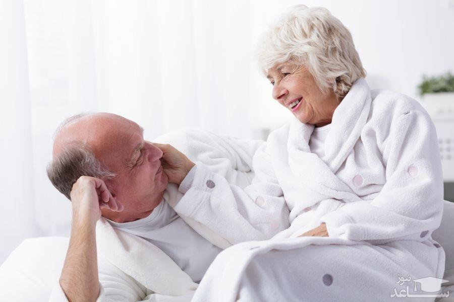 تاثیر افزایش سن بر میل جنسی زنان و مردان