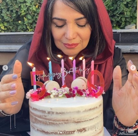 جشن تولد 50 سالگی الهام پاوه نژاد
