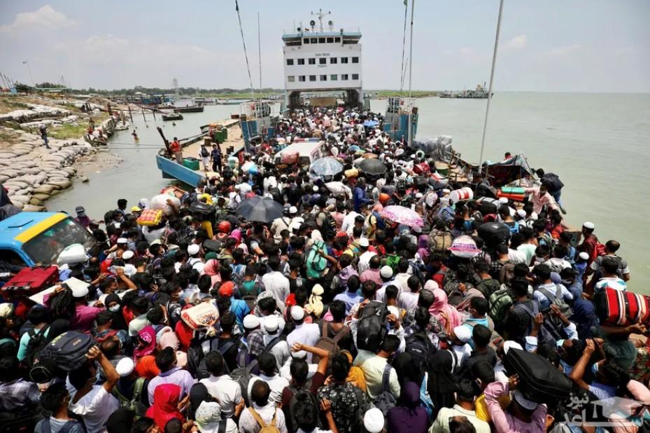 مسافران کشتی