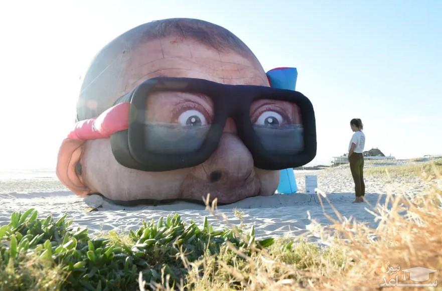 """جشنواره مجسمه های بزرگ در ساحل """"کویینزلند"""" استرالیا/ گتی ایمجز"""