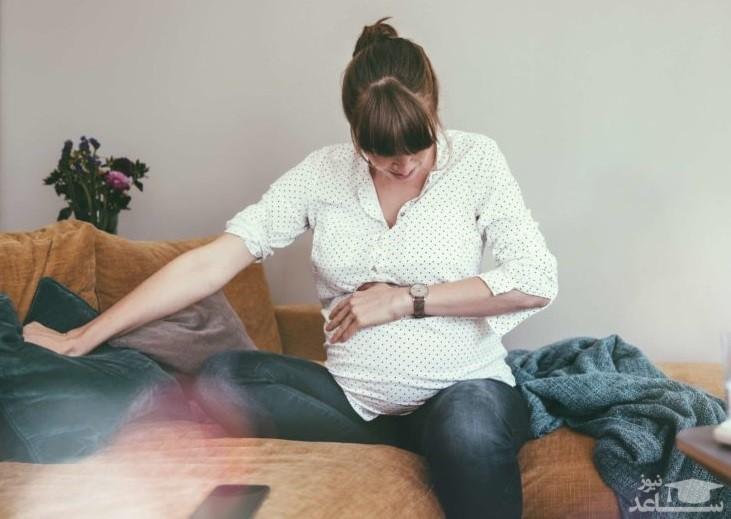دلایل درد و سوزش شکم در بارداری
