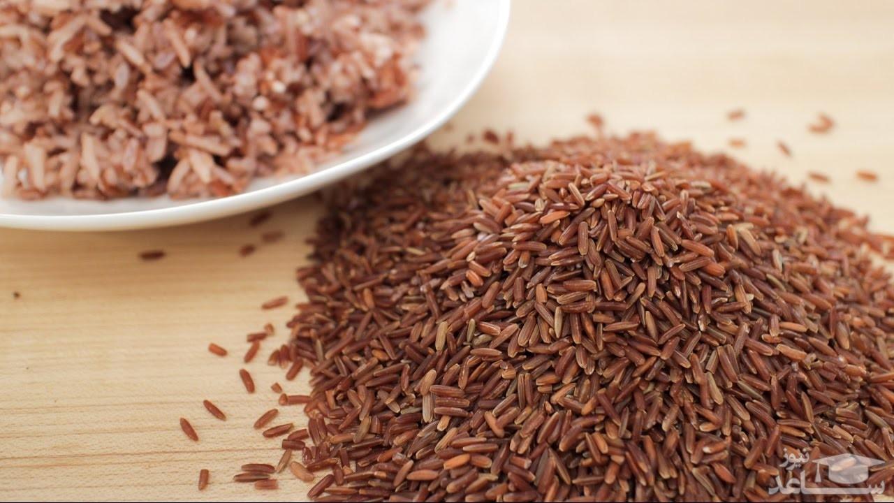 خواص و مضرات برنج قرمز