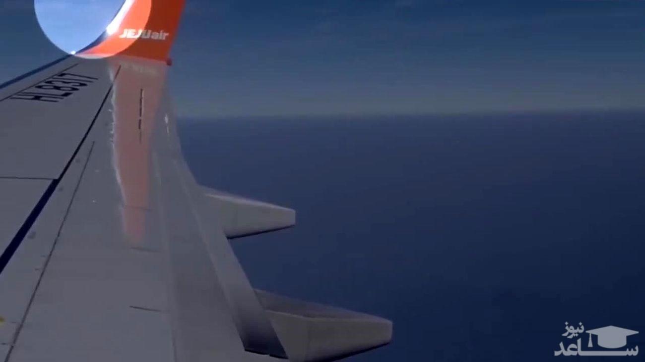 فیلمی دردناک از داخل هواپیمای اندونزی قبل از سقوط