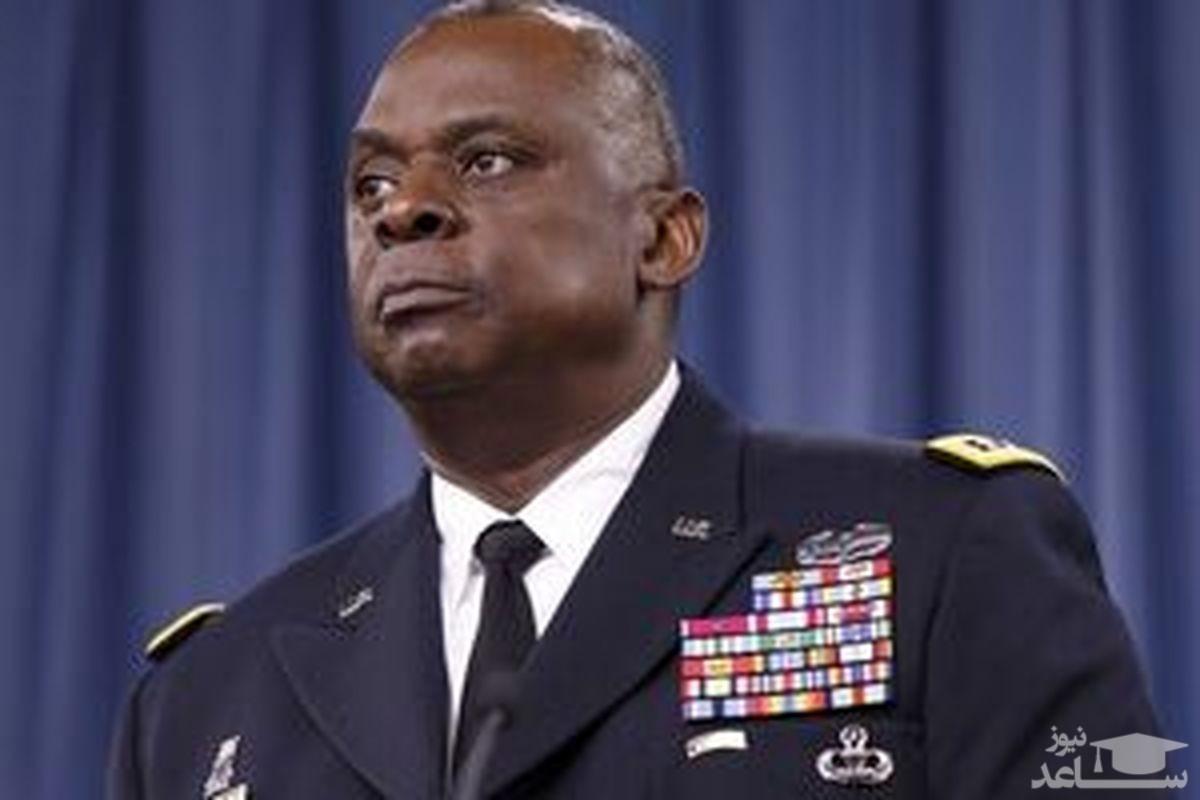 (عکس) وزیر دفاع آمریکا سوژه شد