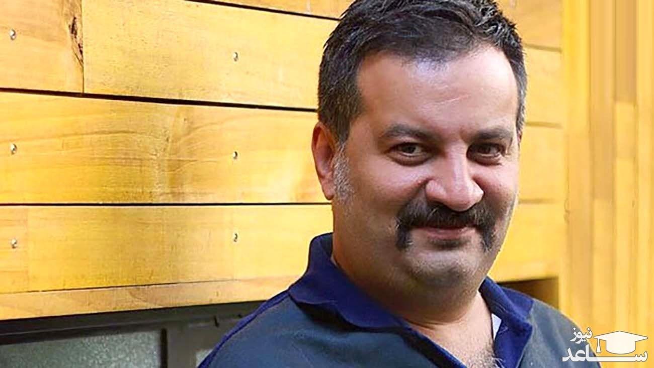 واکنش «مهراب قاسم خانی» به زورگیری از دخترش