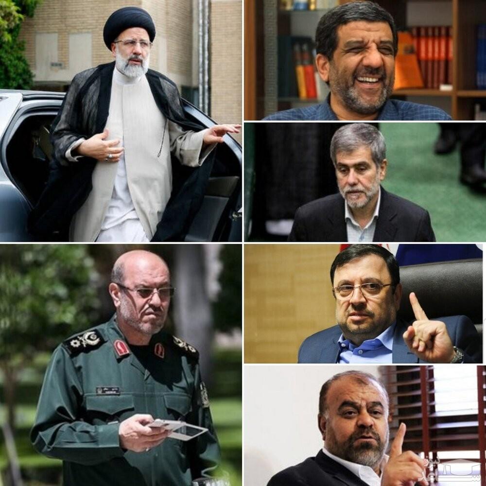 کاندیداهای ریاست جمهوری