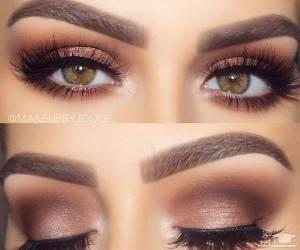 نحوه آرایش چشم برای درشت کردن چشم ها