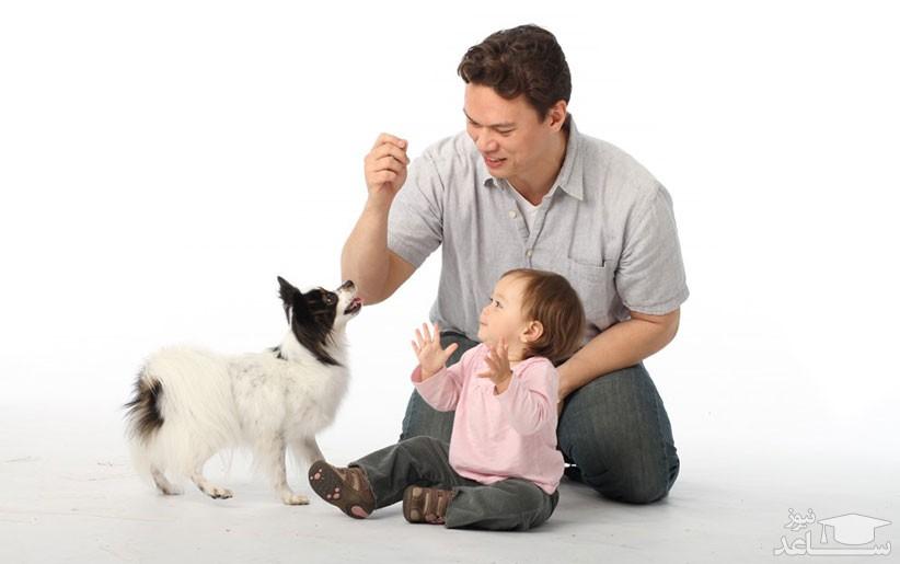 رابطه سگ و کودک