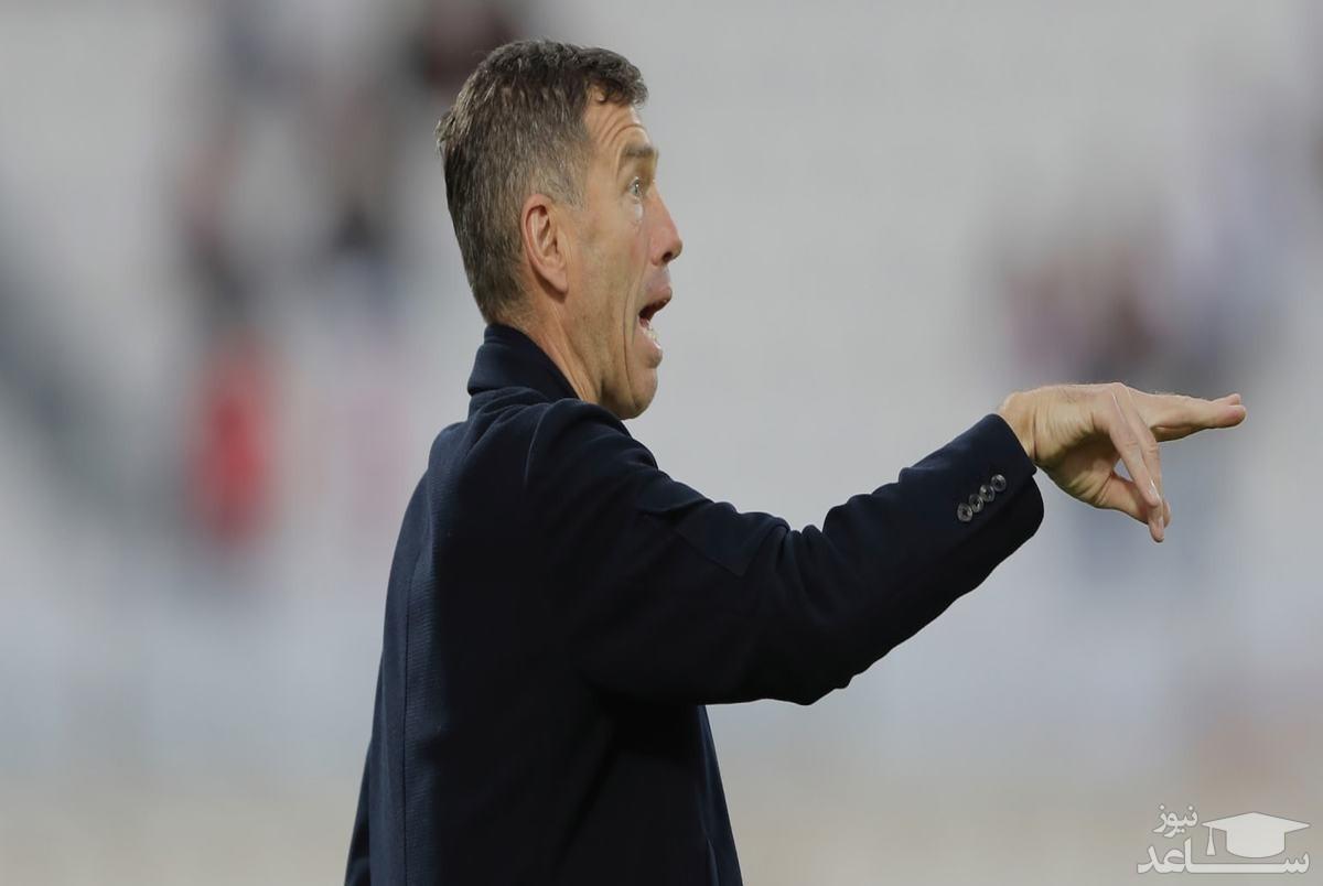 اظهارنظر عجیب مربی عراق در مورد تیم ملی!