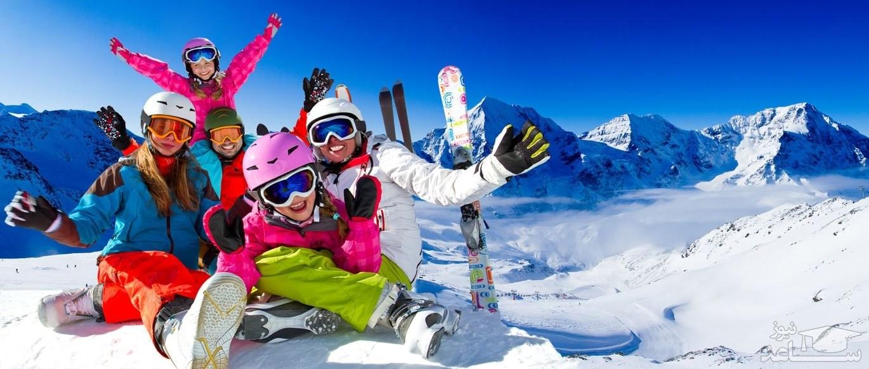 ورزشهای زمستانی پیست دیزین