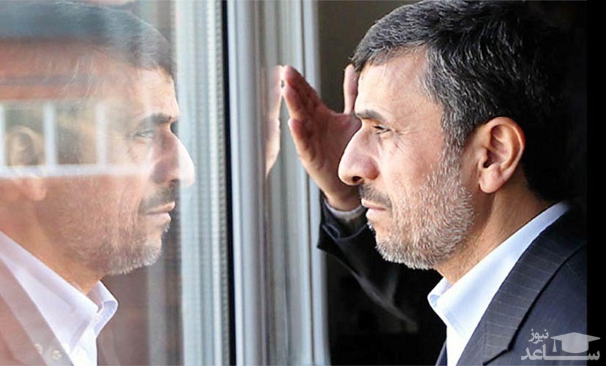 تجمع در مقابل خانه محمود احمدی نژاد با انتشار خبر کاندیداتوریاش