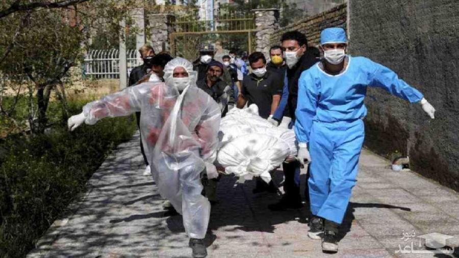 (فیلم) آمار ترسناک مبتلایان کرونا در تهران