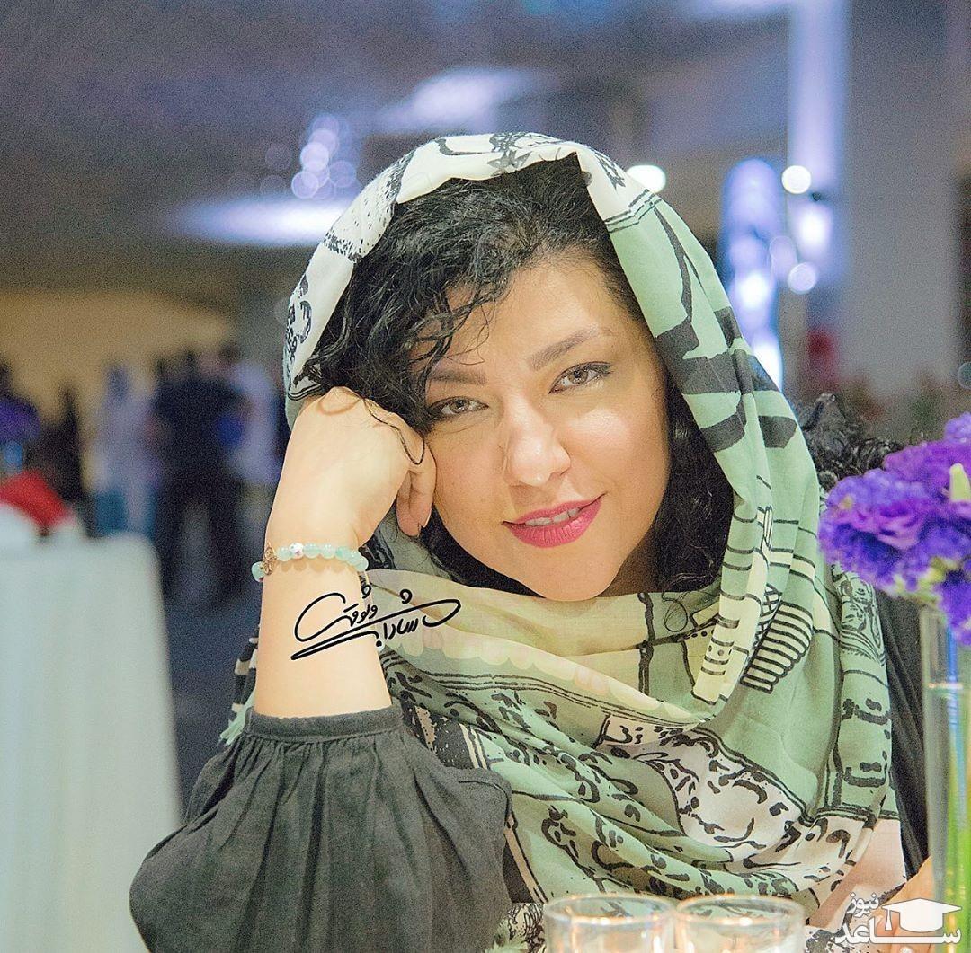 سلفی جدید همسر شهاب حسینی