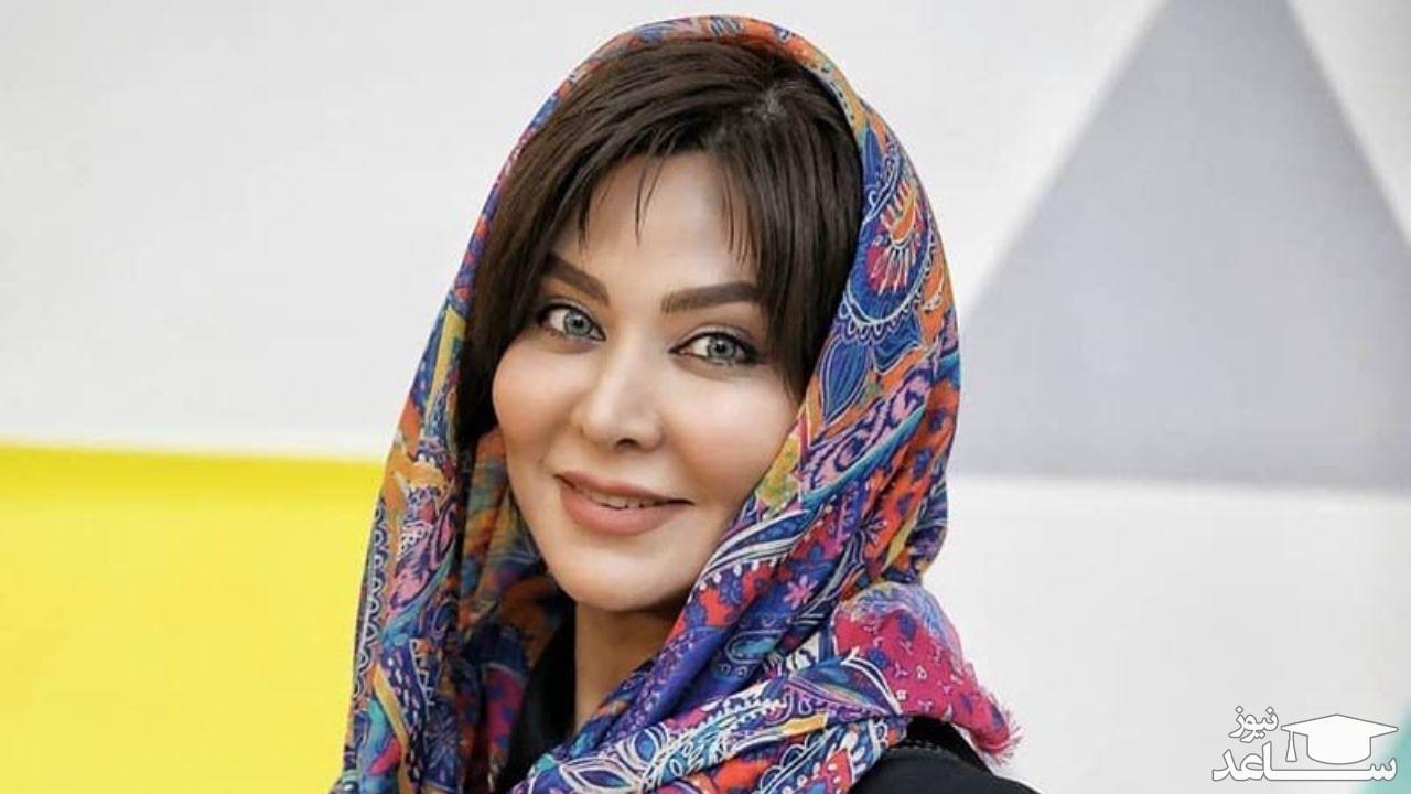 آواز خوانی حرفه ای فقیهه سلطانی بازیگر سریال یاور در ماشین