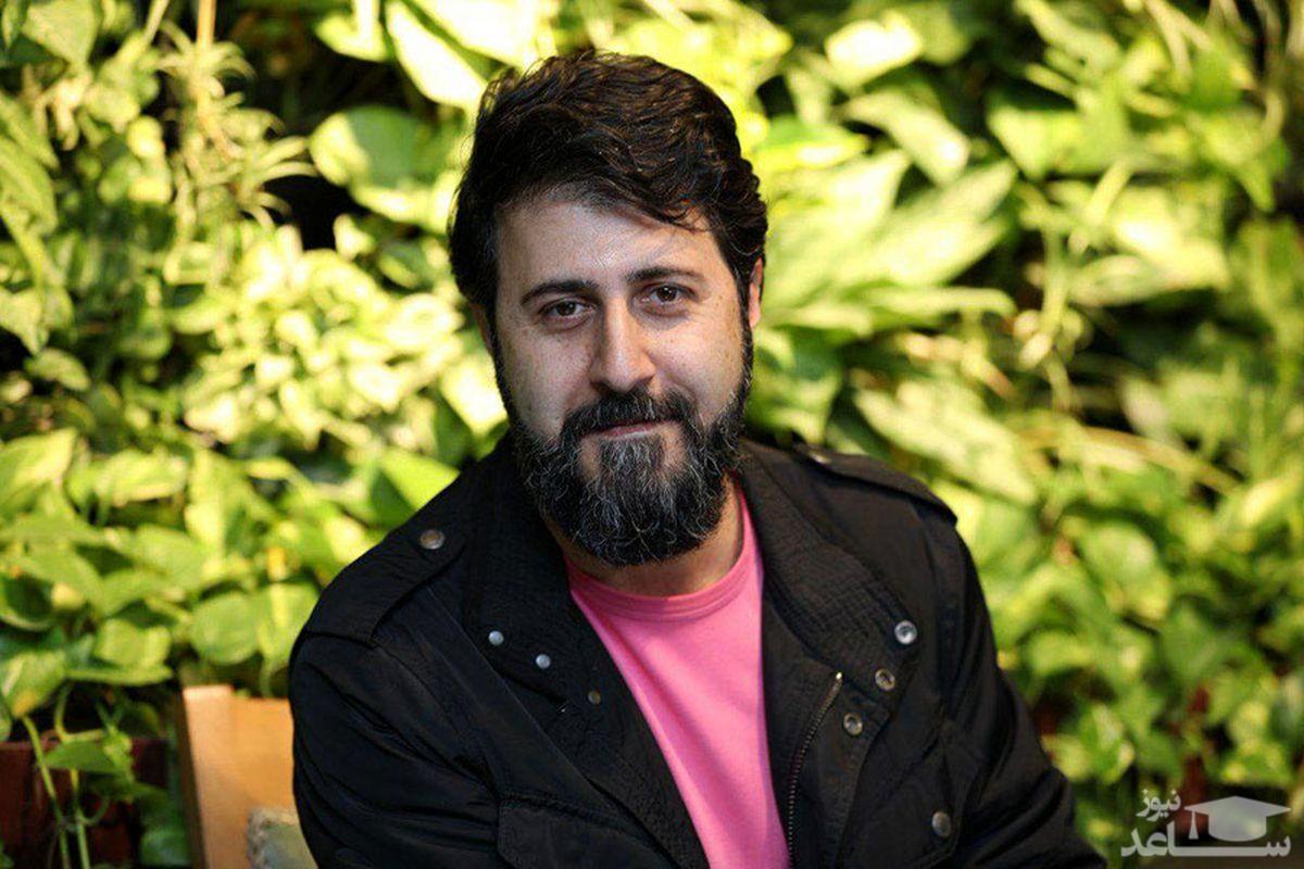 گریم و نقش متفاوت هومن حاج عبداللهی