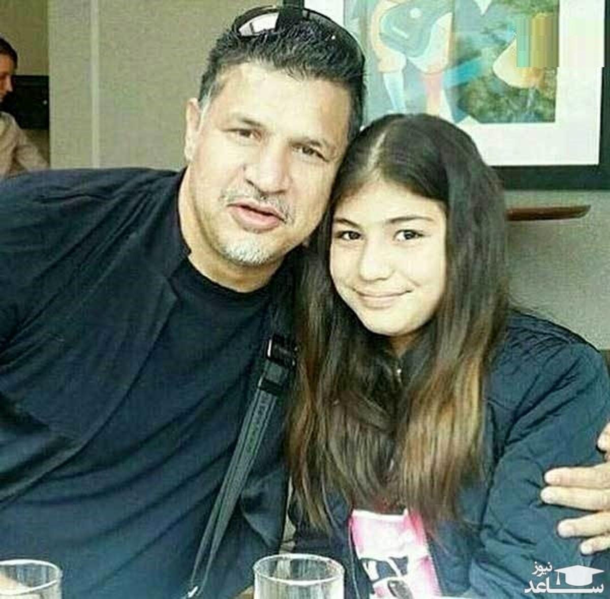 زندگی اروپایی دختر علی دایی در آمریکا