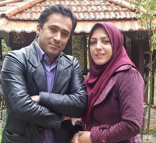 همسر المیرا شریفی مقدم در خانه مادرش دیده شد