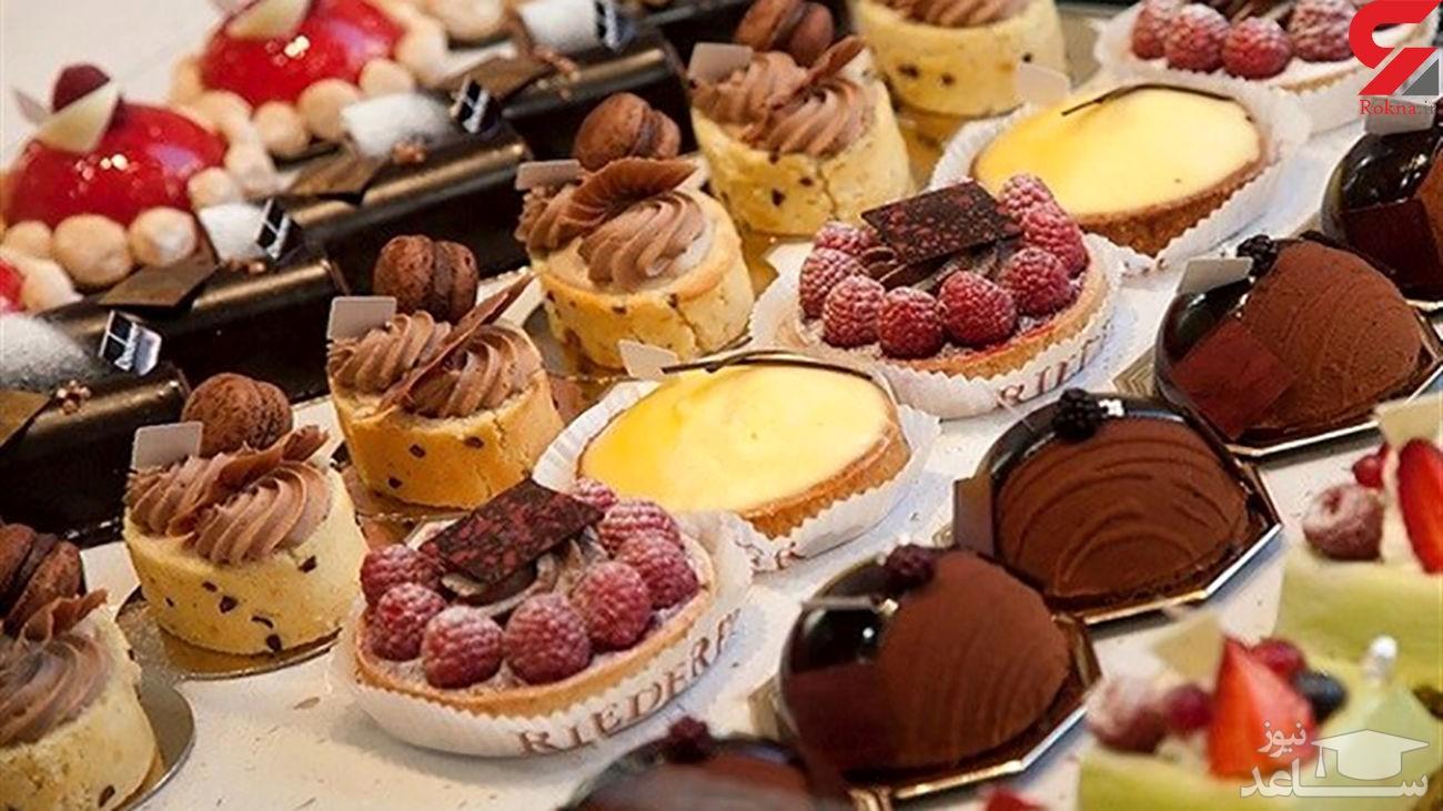 اینفوگرافیک/ دلایل میل شدید به شیرینیجات