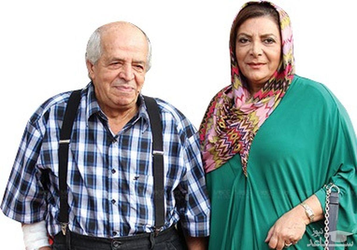 (فیلم)داستان ازدواج مهوش وقاری با مرحوم محسن قاضی مرادی