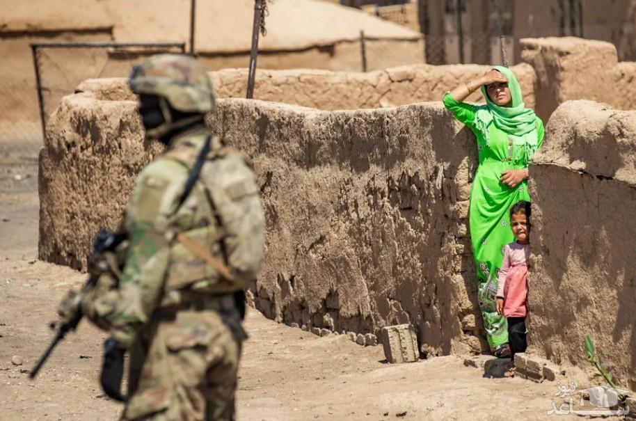 """گشت زنی نیروهای آمریکایی در منطقه """"رومیلان"""" در شمال شرق سوریه"""