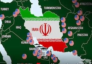 (فیلم) فهرست پایگاههای نظامی آمریکا در منطقه که در تیررس موشکهای ایران هستند