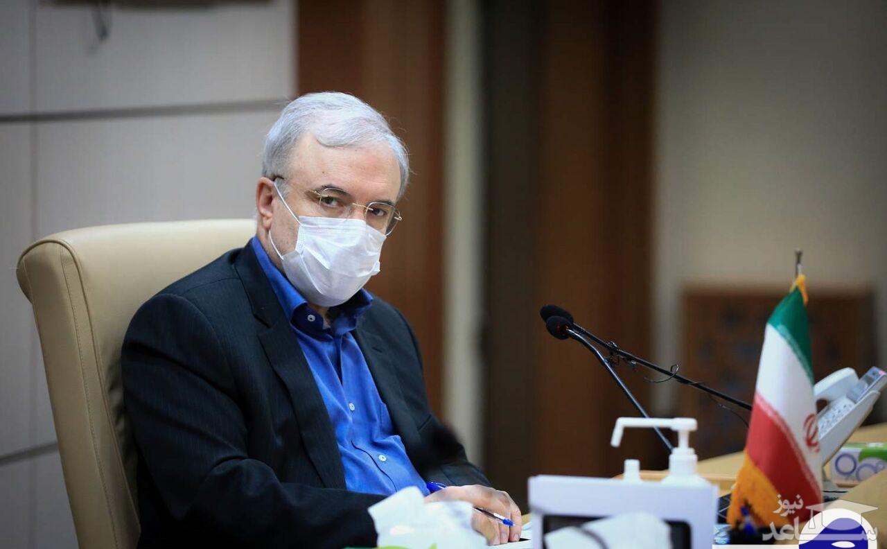 وزیر بهداشت: دعای مردم در مهار کرونا موثر است