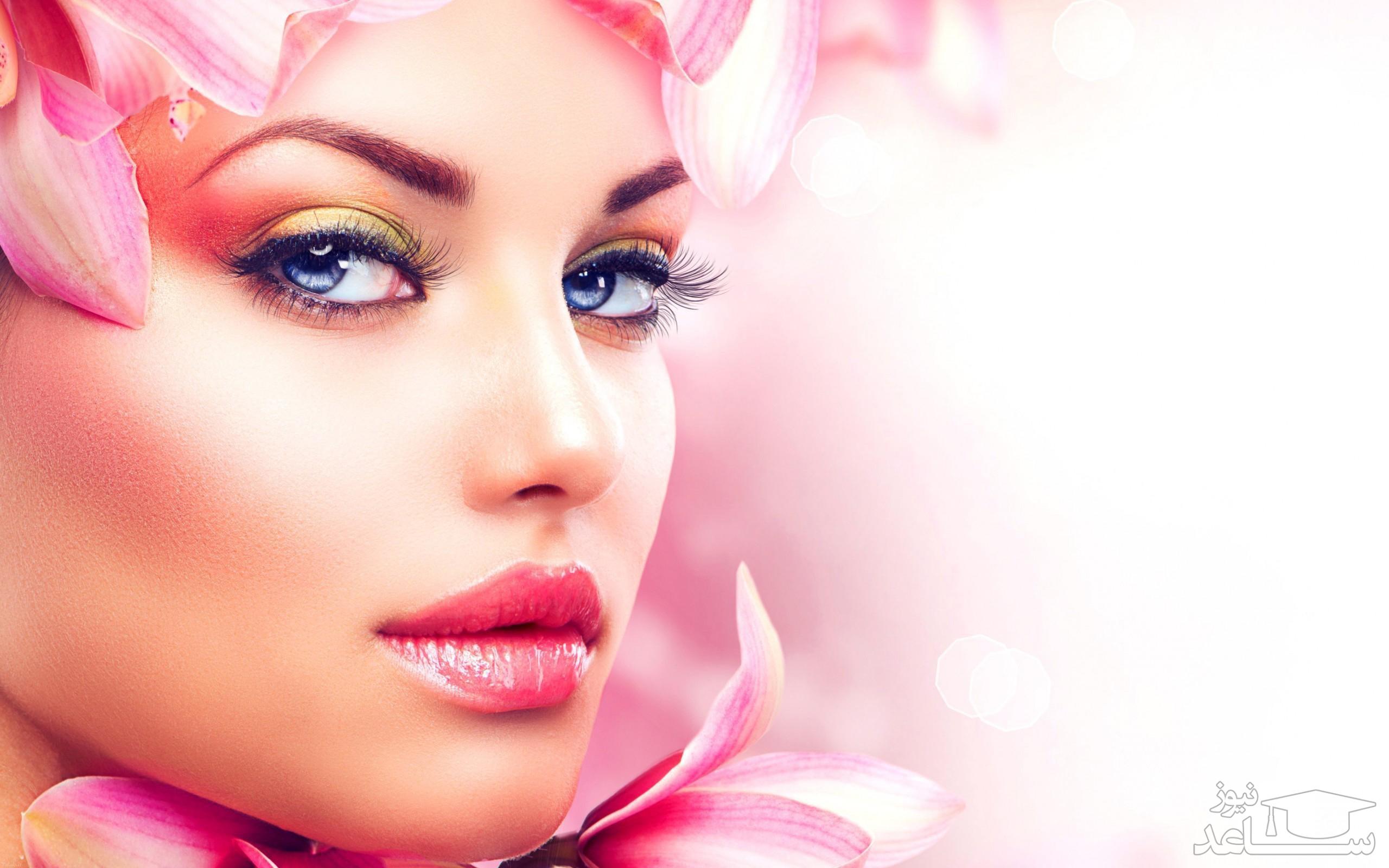 عوارض آرایش غلیظ بر پوست