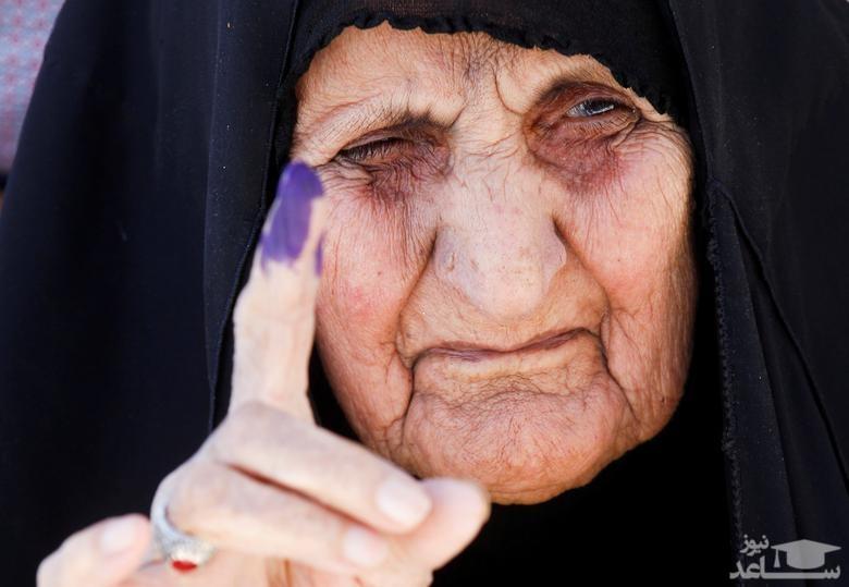 حضور در حوزه های رای گیری در انتخابات پارلمانی عراق/ نجف و بصره/ رویترز و خبرگزاری فرانسه