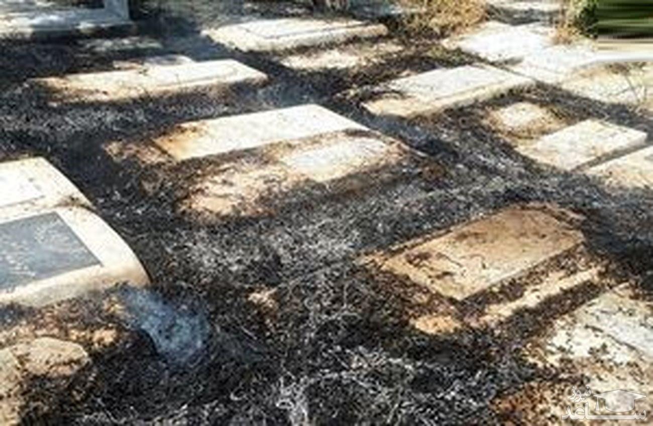 ماجرای آتشسوزی مقبره تختی