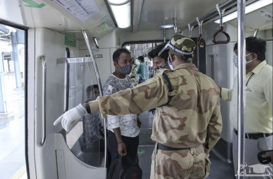 آغاز به کار خط مترو شهر دهلی هند