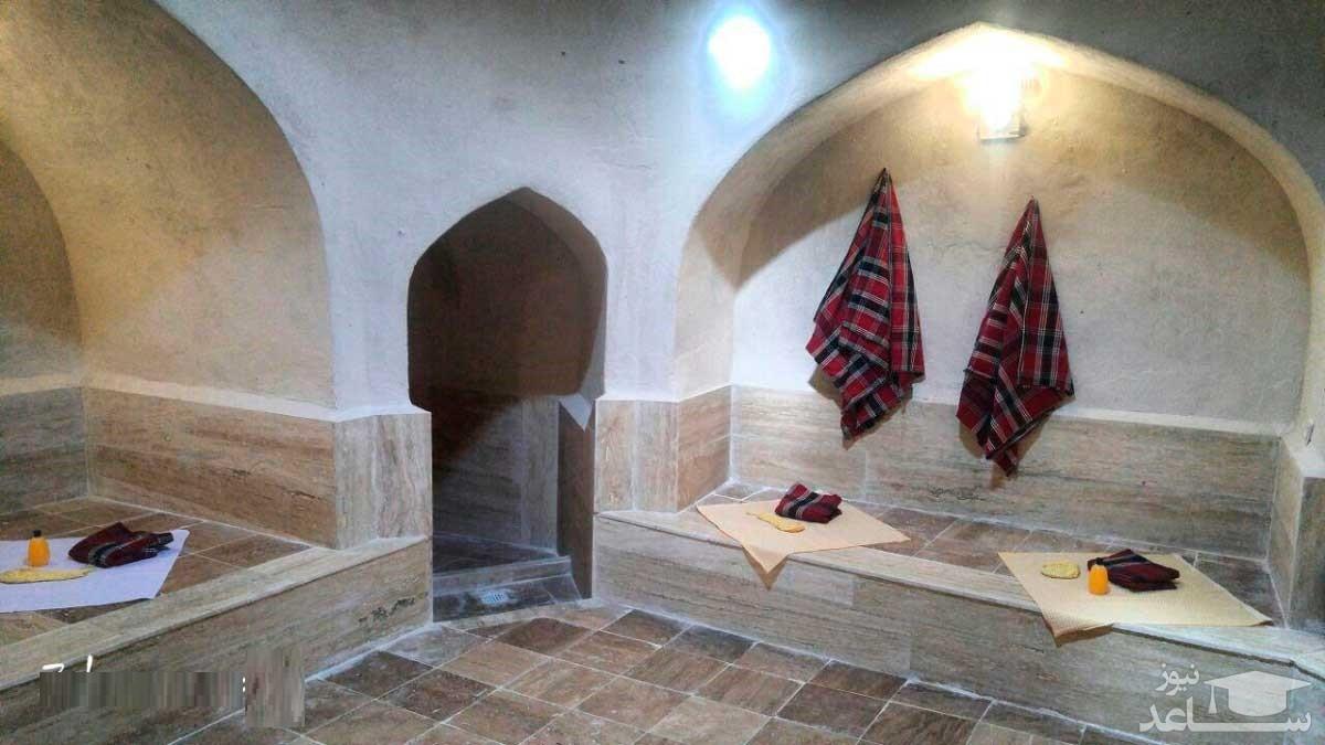 (عکس) صف حمام نمره در تهران قدیم