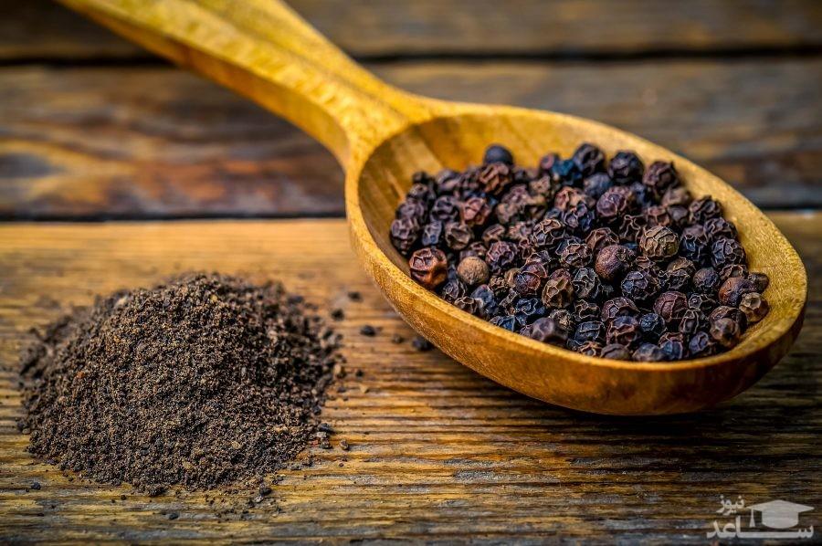 32 خاصیت درمانی فلفل سیاه و مضرات آن