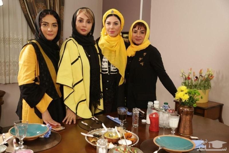 بازیگران زن با تم  جالب مدرسه در «شام ایرانی»
