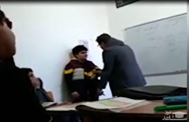 (فیلم) رفتار تحقیرآمیز یک معلم با دانش آموز بوشهری