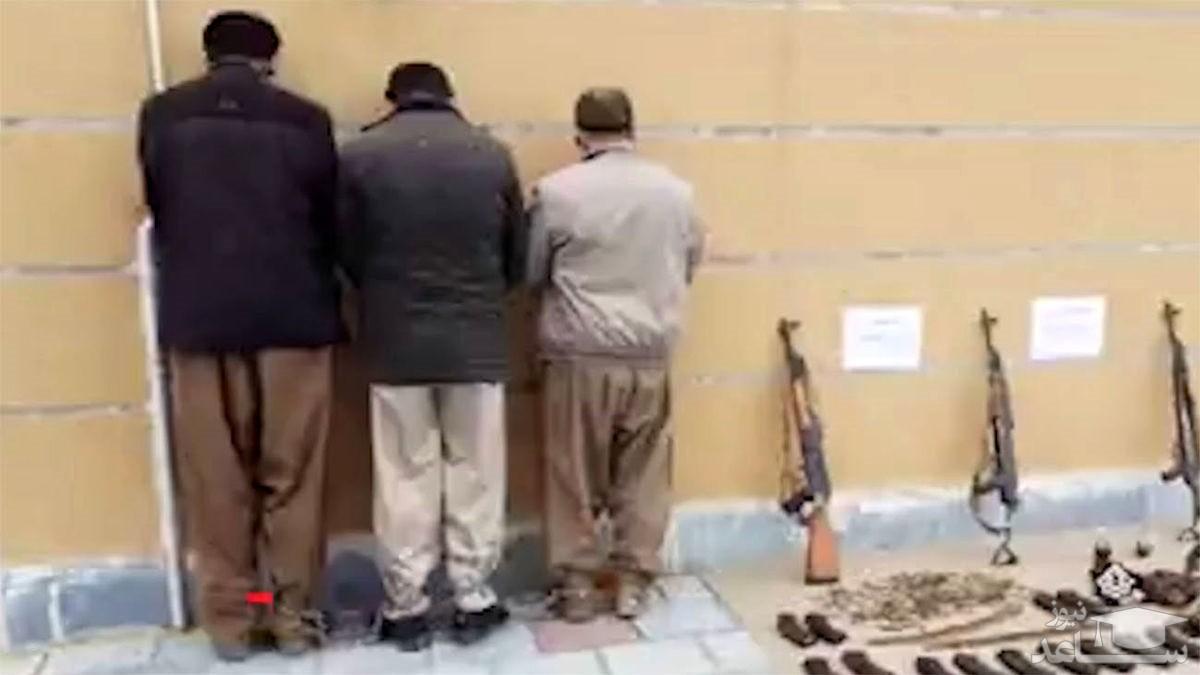 (فیلم) بازداشت 3 تروریست خطرناک در ایران
