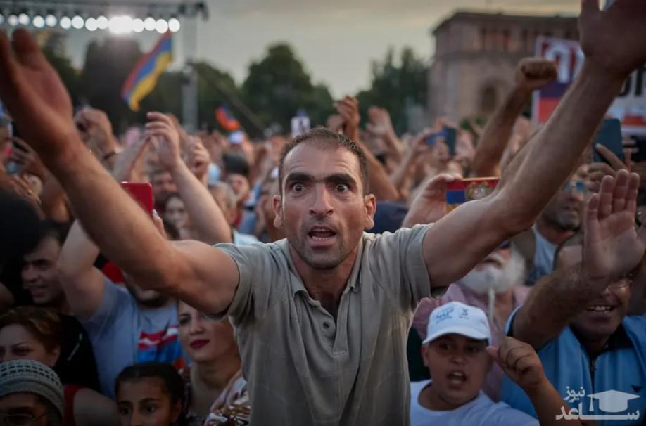 "جشن پیروزی حامیان ""نیکول پاشینیان"""